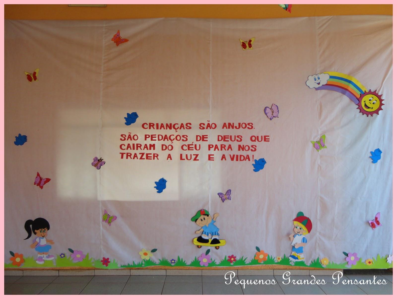 Pequenos Grandes Pensantes Semana Das Crianças