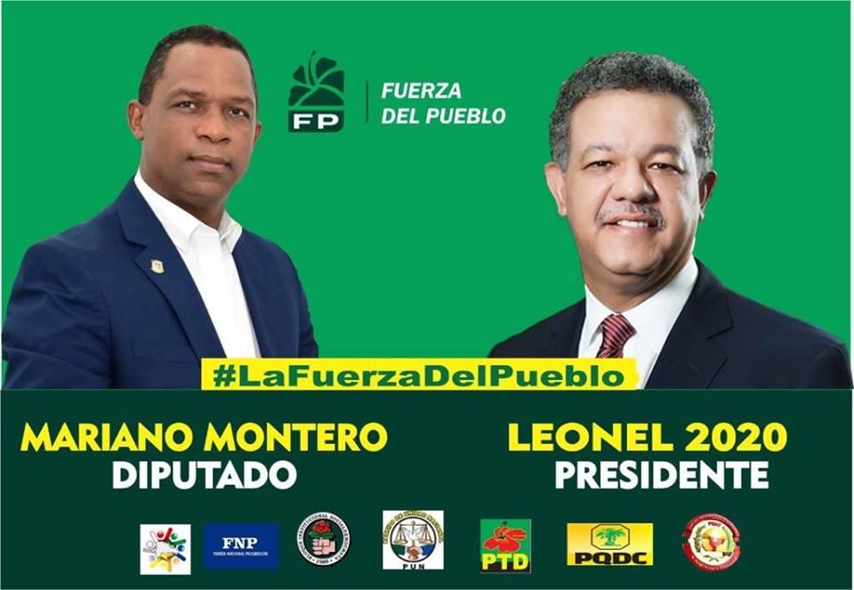 MARIANO MONTERO VALLEJO, diputado provincia Barahona LFP/Coalición Opositora 2020/2024