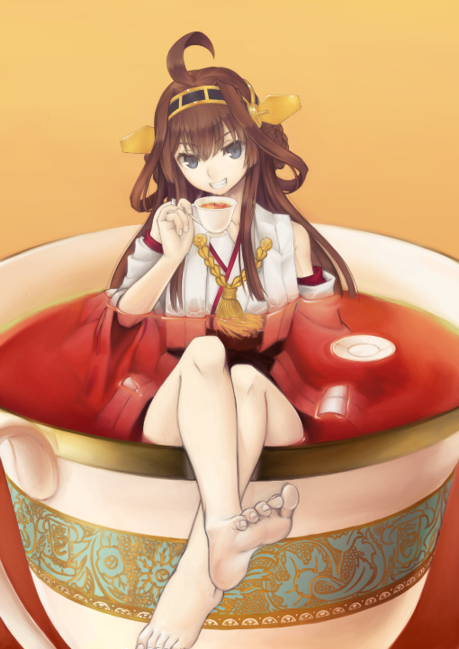 Hey Admiral, now TeaTime Desu! !