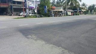 Kemalangan di Kampung Pertama, Permatang Pauh berhampiran masjid Batu