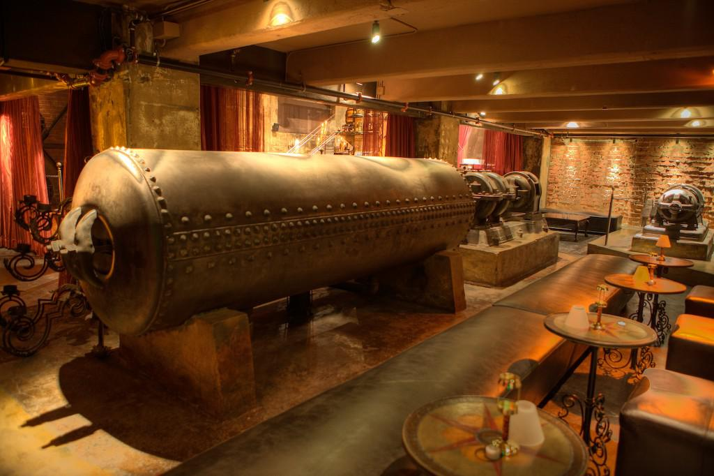 Bilinear art consulting steampunk interiors for Home decor los angeles