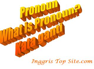 Belajar Pronoun kata ganti