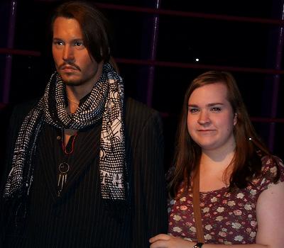 Johnny Depp & me