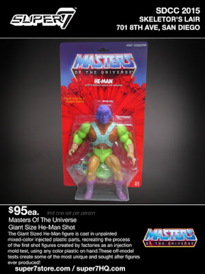 San Diego Comic-Con 2015 Exclusive Masters of the Universe He-Man Giant Size Test Shot Action Figures by Super7