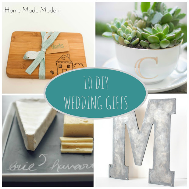 Home Made Modern: DIY Wedding Gifts