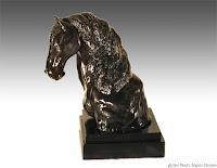 clay sculpture, horse sculpture, clay art