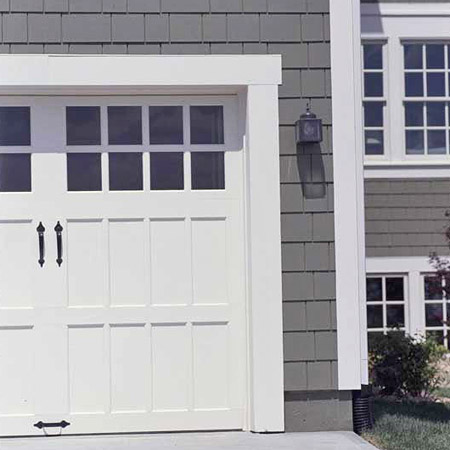 Vignette design garage door inspiration carriage style for Garage door styles