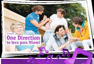 """Promoção """"One Direction te leva para Miami"""""""