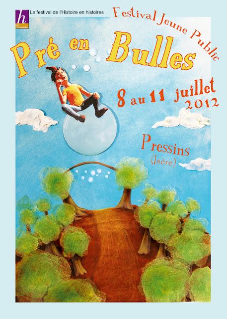 Festival Pré en Bulles du 8 au 11 juillet à Pressins ! Affiche+web+2012