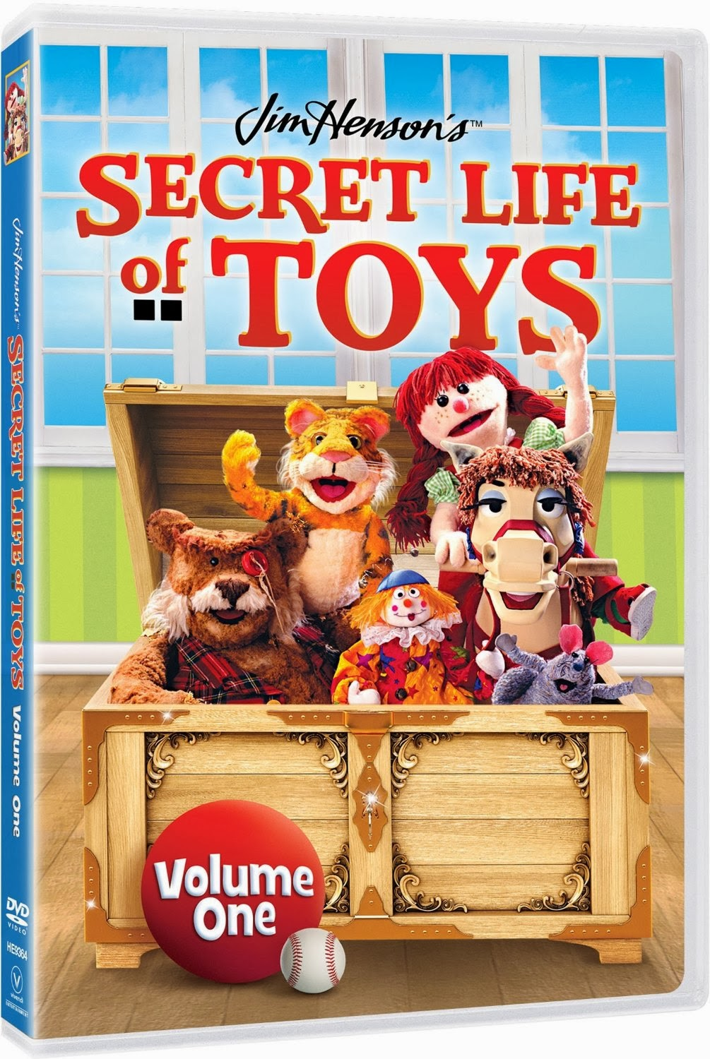 Now Available! Jim Henson's Secret Life of Toys Volume One