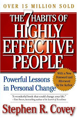 LAST READ : 7th Habit of Highly Effective People by Stephen R.Covey