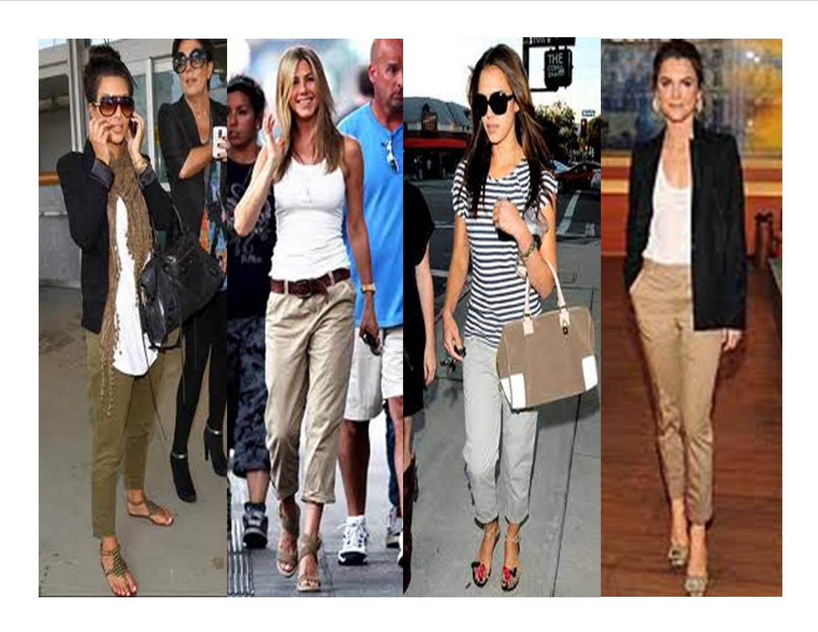 How to Wear Chinos Women
