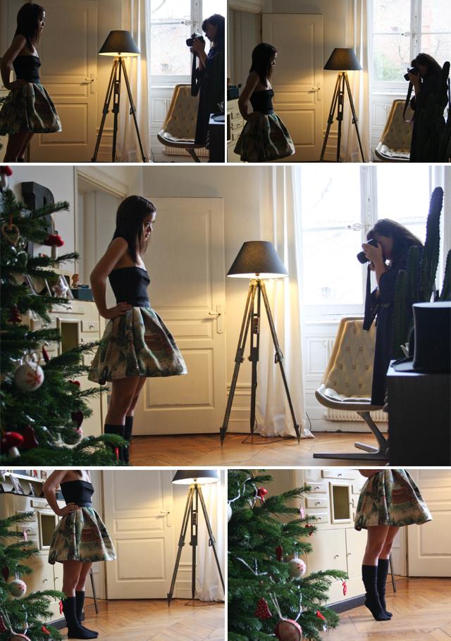 Shooting photo Sweet art