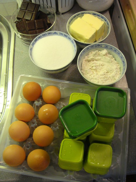 Patty fait sa cuisine fondants au chocolat micro gourmet - Samantha fait sa cuisine ...