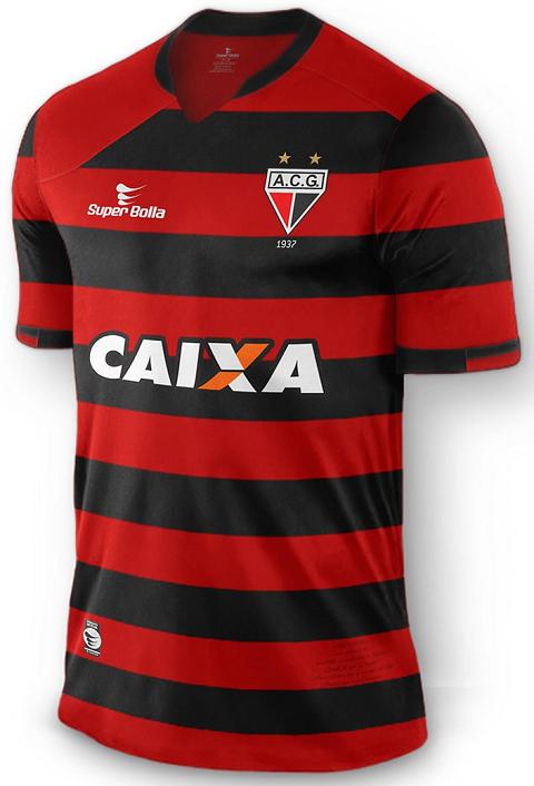 Super Bolla Lanca Novas Camisas Para O Atletico Goianiense Show De Camisas