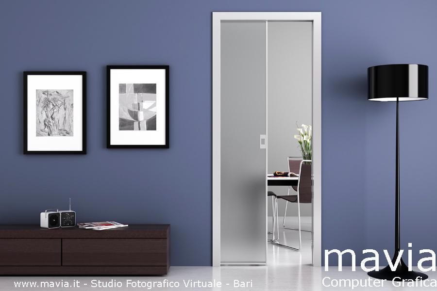 Arredamento di interni porte 3d modelli 3d porte per - Modelli porte interne legno ...