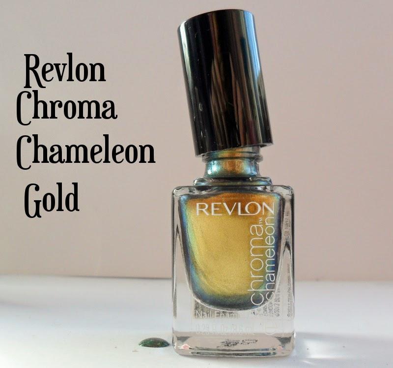 Revlon Chroma Chameleon Gold Swatch