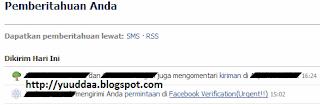 hati-hati, waspada aplikasi facebook verification urgent!