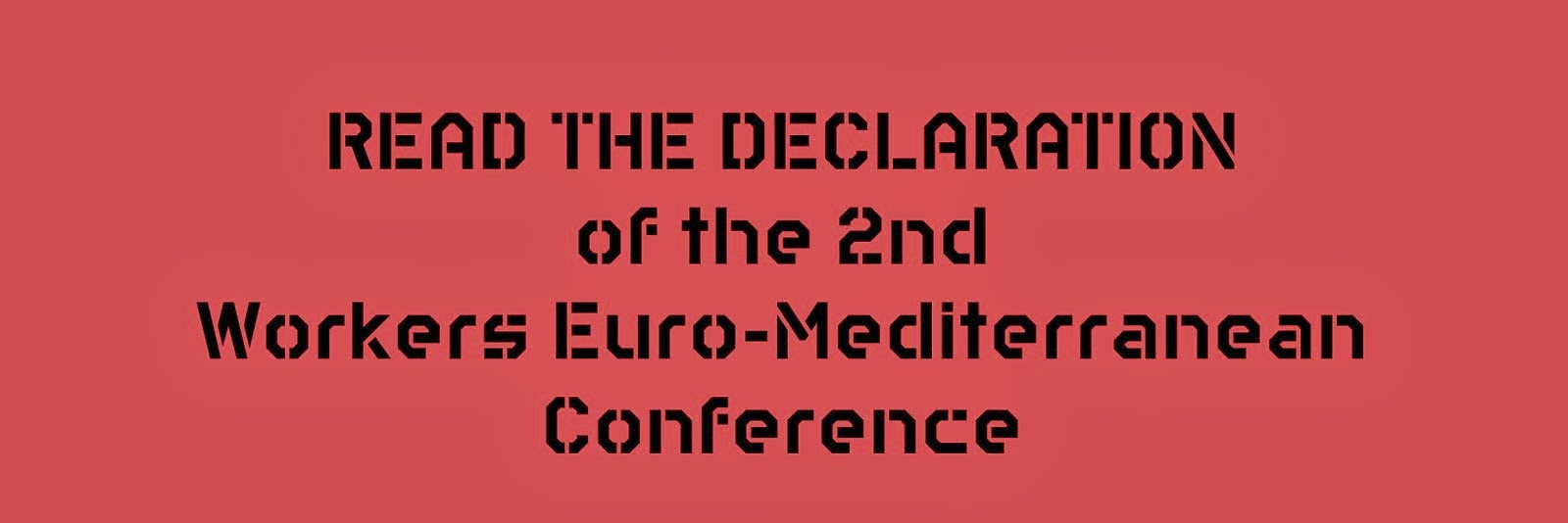 Declaration of the Conference