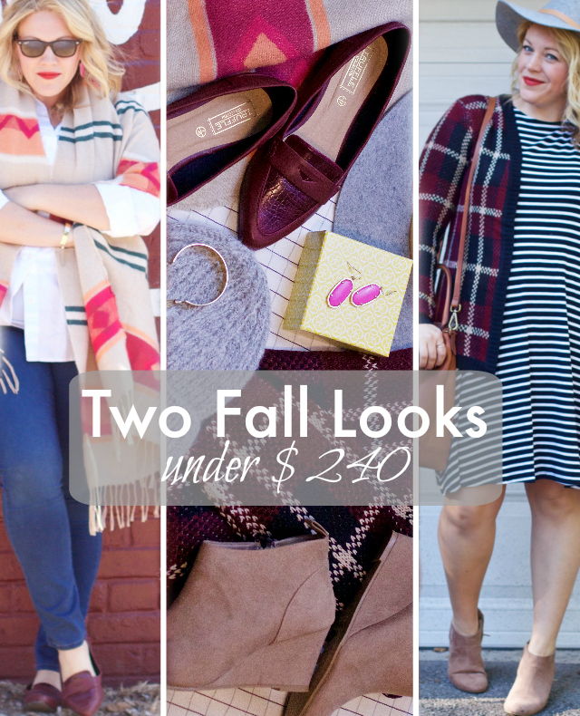 Easy fall looks with basic pieces and summer clothing