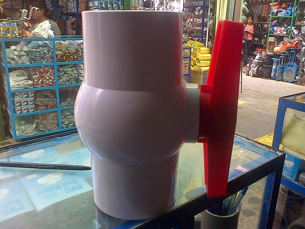 valvula de PVC