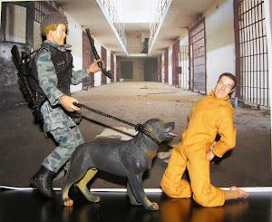 Diorama Abu Ghraib