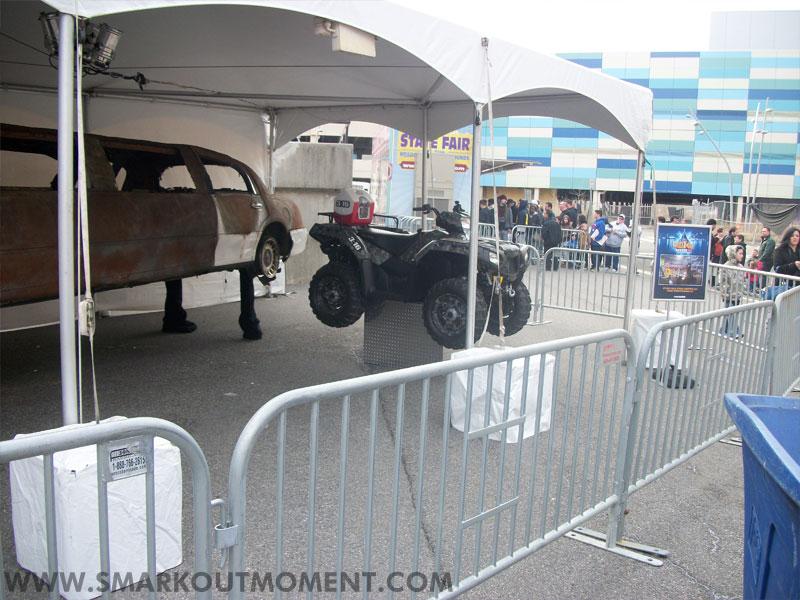 WrestleMania Axxess Steve Austin Cart