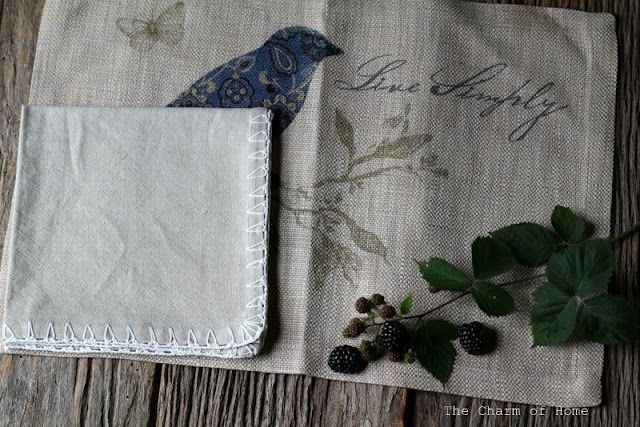 Rustic Place mat by Heritage Lace