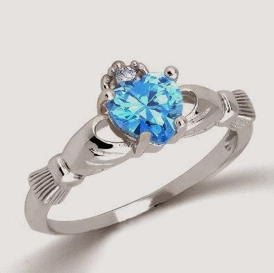 promise rings blue topaz promise rings promise rings