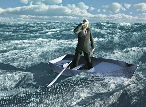 Big Data konulu yazıların vazgeçilmez klişe görseli