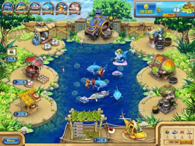 Farm Frenzy Gone Fishing Screenshots