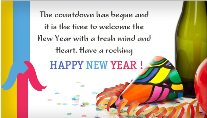 Happy New Year wishes images 2015 Wishes Quotes whatsapp facebook ...