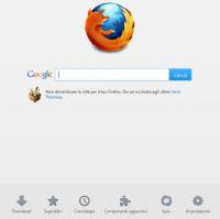 Firefox 13 nuova pagina iniziale