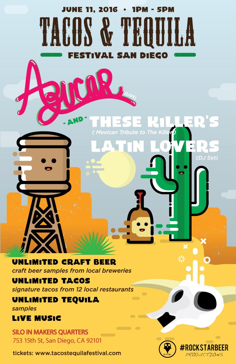 Save On Passes & Enter To Win 2 VIP Tickets To Tacos, Tequila & Beer Festival