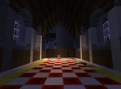Minecraft: Someone else's castle