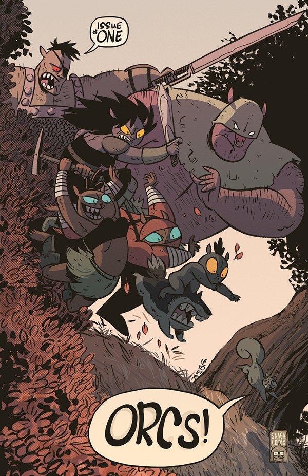Orcs! On-Line Comic