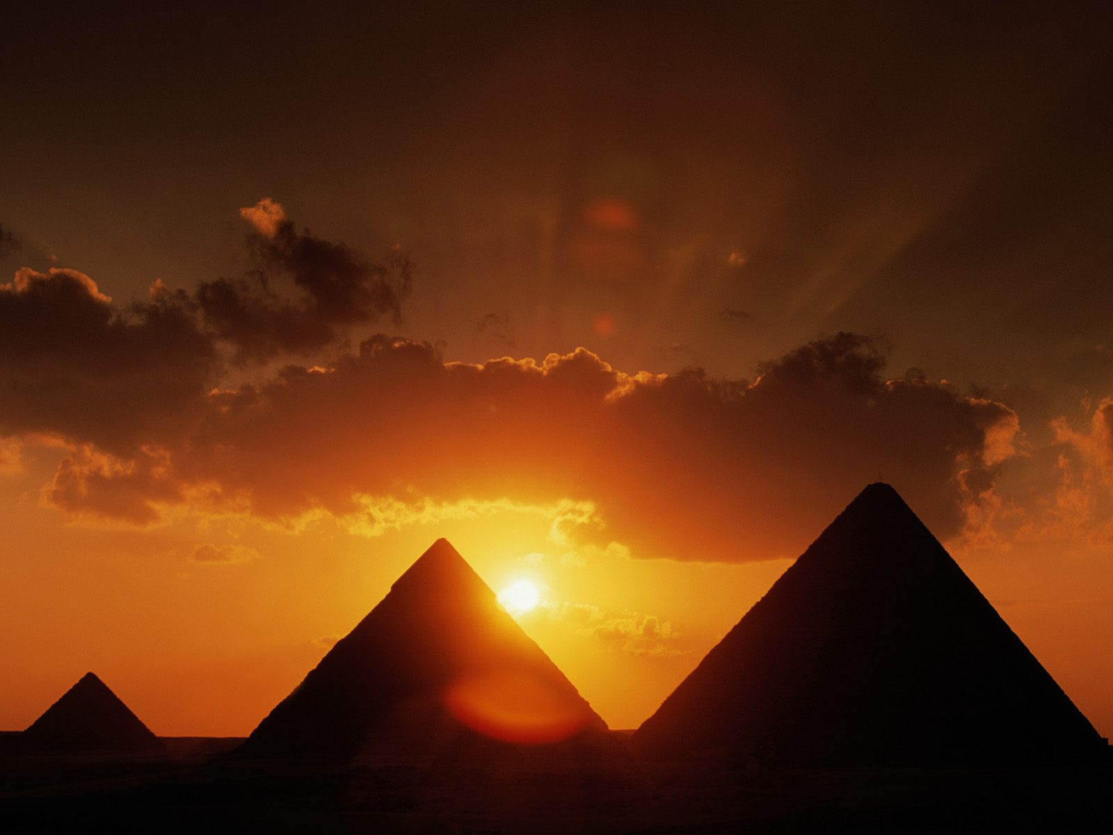 They found the pyramids by using satellites that orbit Earth. These ...
