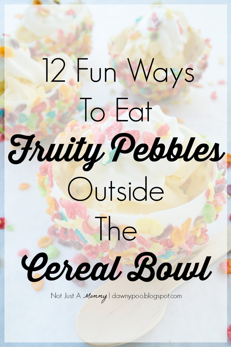 From muffins to milkshakes, 12 fun ways to eat Fruity Pebbles outside the cereal bowl