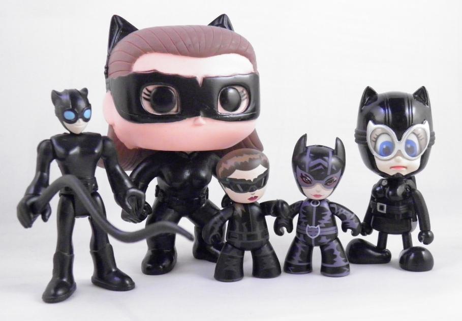 DC Comics Blammoids Series 3 Catwoman Figure