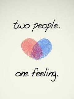 Two People One Feeling 240x320 Mobile Love Wallpaper