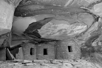 Fallen Roof Indian Ruin, Utah