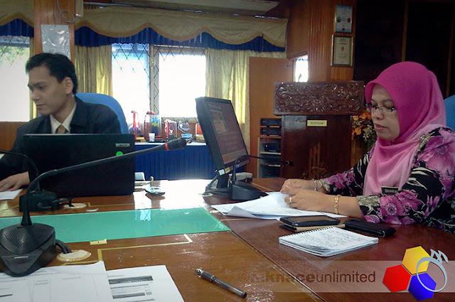 mknace unlimited™ | Ketua Sektor selaku pengerusi mesyuarat