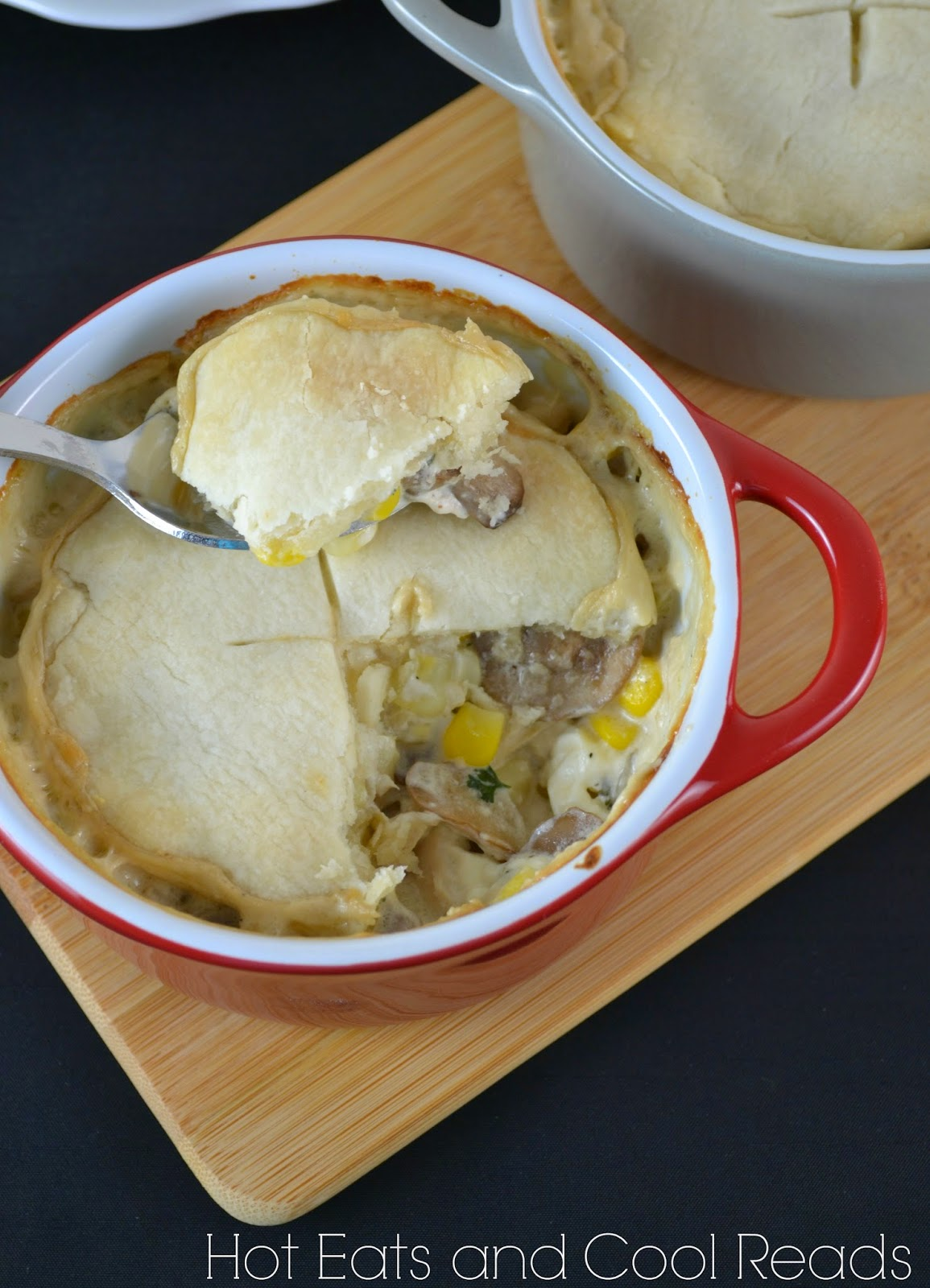 Chicken And Vegetable Pot Pies With Cream Cheese Crust Recipes ...