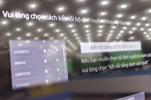 Hướng dẫn kết nối mạng cho Tivi Sony qua wifi 7