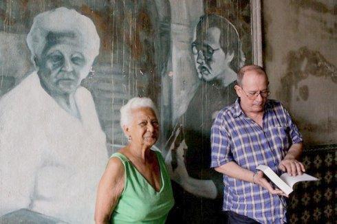 Reencuentro, feliz segunda coincidencia. Foto: Alejandro Ramírez Anderson/ Cubadebate