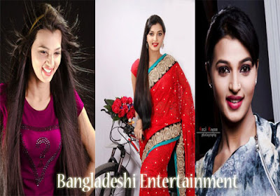 Bangladeshi model and actress Borsha