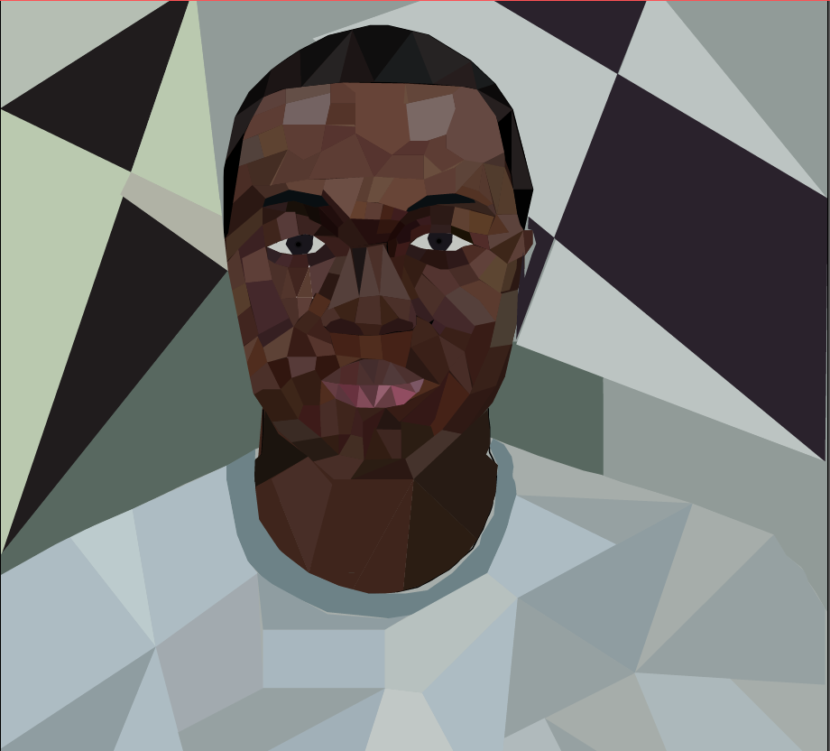 Skyline High School Graphic Design 1: Geometric Avatar For