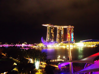 Night View of Marina Bay Sands