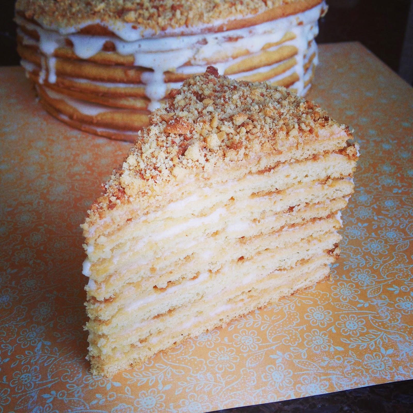 Рецепт приготовления медового торта пошаговое фото