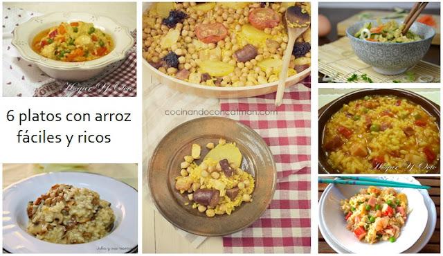 Seis platos con arroz f ciles y ricos - Platos faciles y ricos ...